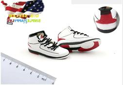 "1/6 male sneakers basketball air shoes For 12"" hot toys phic"