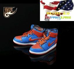 1/6 man sneakers sport basketball shoes air for enterbay hot
