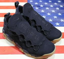 Nike Air More Money Men's Air Max Basketball Shoes Black Gum