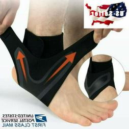 Ankle Compression Brace Basketball Running Foot Leg Support
