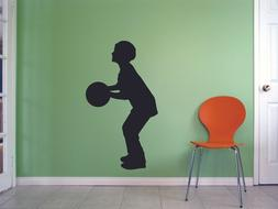 Athlete Sports Player Basketball Shoot Shoes decals Wall Art