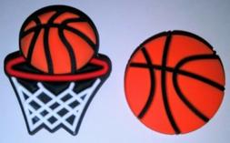 Basketball & Net Shoe Charms!  NEW! For Crocs, Clogs, Crafts