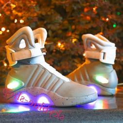 Basketball Led Shoes Bavk To The Future Light Warrior Sneake
