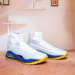 Fashion HOT Men's Under Armour Curry 4 High TRAINING Basketb