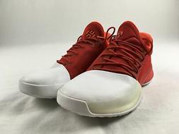 adidas Harden Vol. 1 Basketball Shoes Men's Red/White Used 9