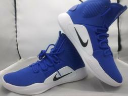 Nike Hyperdunk X High-Top Basketball Shoes Blue Men's Size