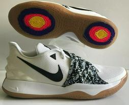 Nike Kyrie Irving Low Basketball Shoes White Black Gum Size