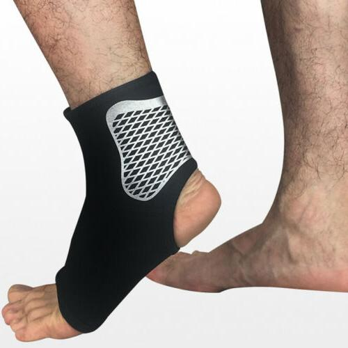 1X Sports Elastic Ankle Brace Support Compression Basketball Wrap