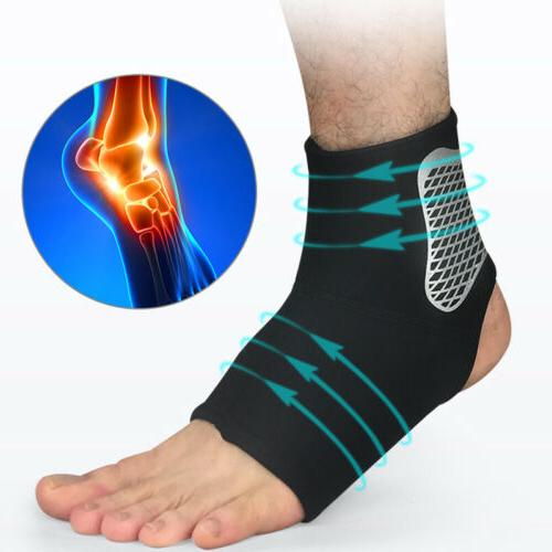 1x sports elastic ankle brace support compression