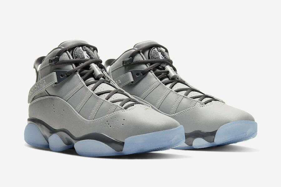 air jordan 6 rings se metallic silver