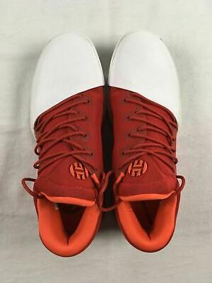 adidas Basketball Men's Red/White Used 9