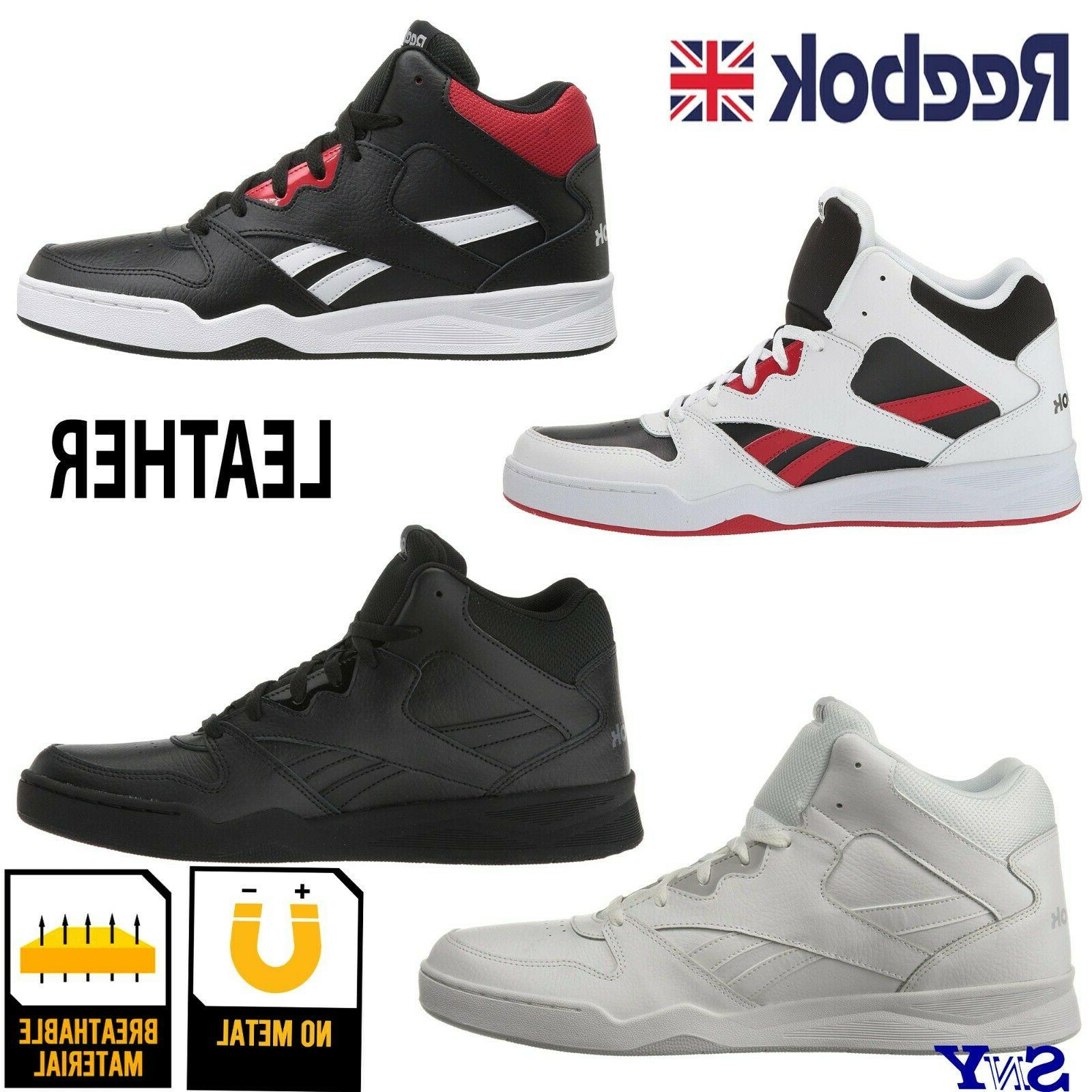 high top basketball leather shoes motion control