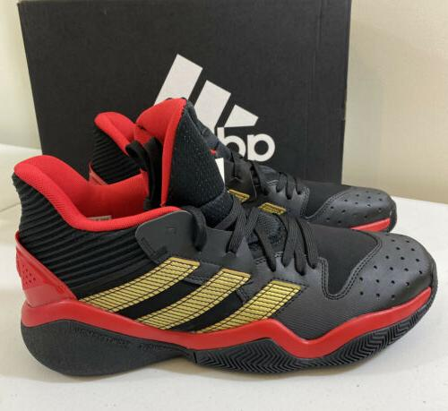 Adidas James Black/Red Basketball Shoes Size