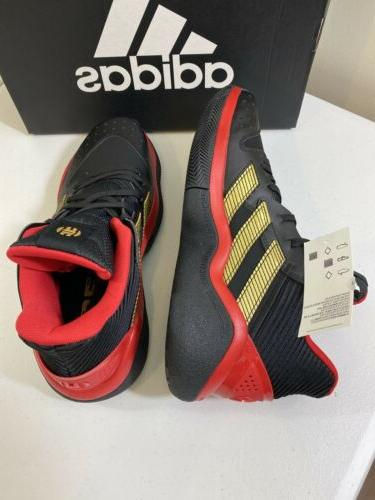 Adidas Harden Black/Red Shoes Men's Size 9