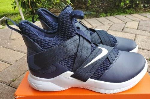 12 Basketball Shoes Navy/White Mens Size 10.5