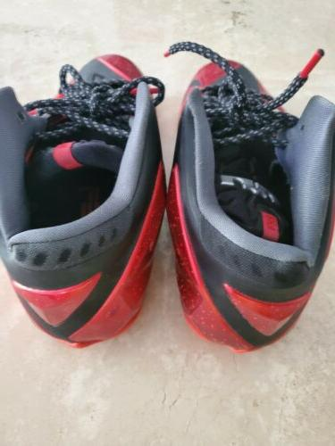 Nike 11 Miami Heat 11.5 Red and basketball shoes WOW $100