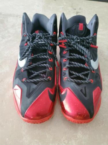 Nike Lebron Miami Size Red and Black basketball