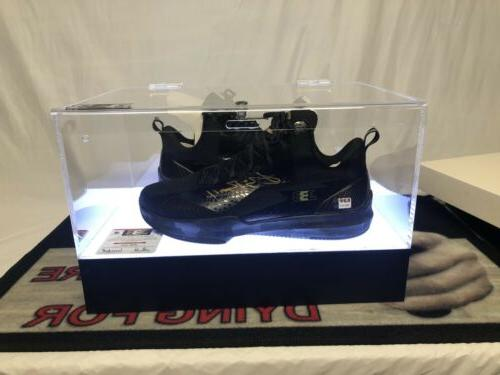 lonzo ball autographed shoes bbb zo2 wet