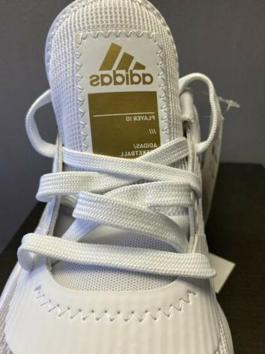 Mens Adidas 2019 Low Shoes White SIZE