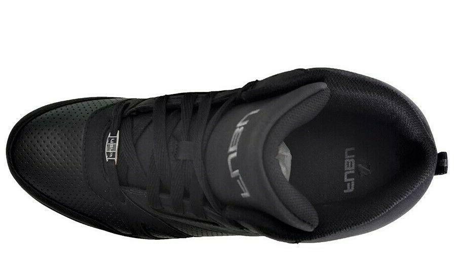 Fubu Midnight Perforated Faux Leather shoe Size