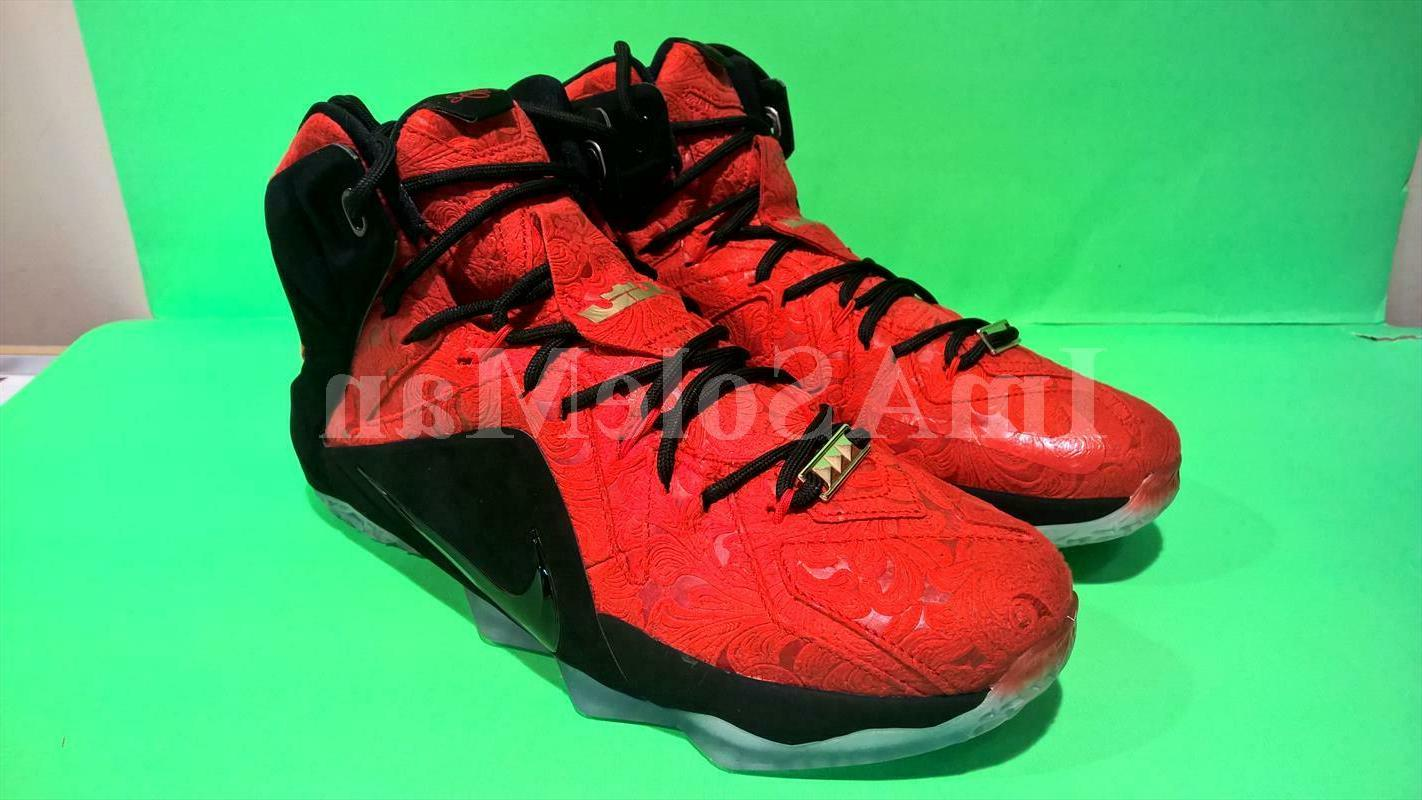 new rare vintage zoom lebron xii ext
