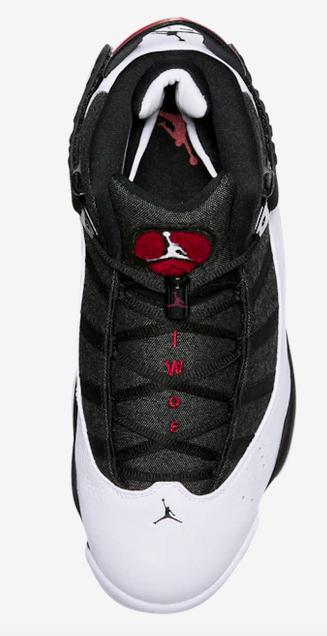 NWB MEN'S 6 BASKETBALL SHOES-Black/White/Gym Red