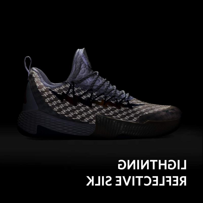 PEAK Mens Basketball Shoes Breathable Sneakers Lightning