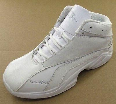 playmaker men s leather basketball shoes 52623n
