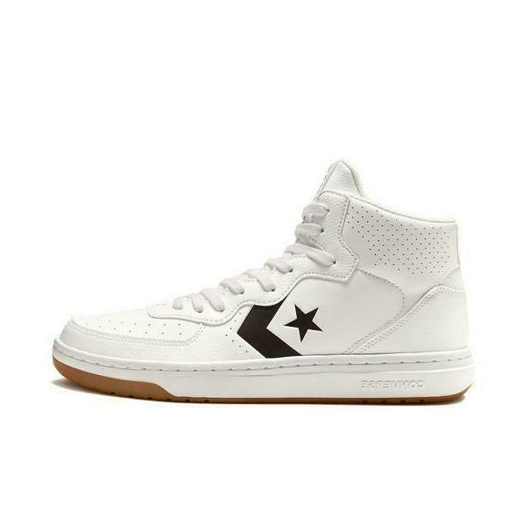 rival mid basketball sneakers shoes white black