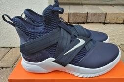 lebron james soldier 12 basketball shoes navy