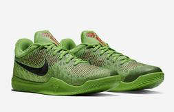 "Nike Mamba Rage Kobe ""Grinch"" Basketball Shoes Green Red 908"