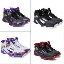 Men High-Top Basketball Sports Shoes Kids Boy Anti-Slip Outd