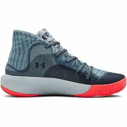 Under Armour Men's Spawn Mid Basketball Shoe, Ash  - Choose