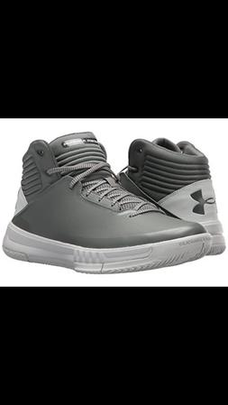 Under Armour Men's Lock Down 2 Basketball shoes Clay Green