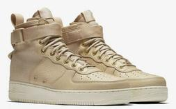 Nike Mens SF Air Force 1 Mid Basketball Shoes Mushroom 91775
