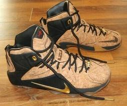 *MENS SIZE 8.5 LEBRON XII EXT CORK BASKETBALL SHOE-- NEW IN