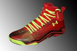 Under Armour Micro G Pro 1251479 Mens Red Comp Fit Basketbal