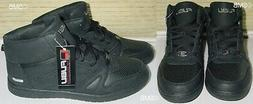 FUBU Midnight Black High Top Basketball Shoes size 13 NEW