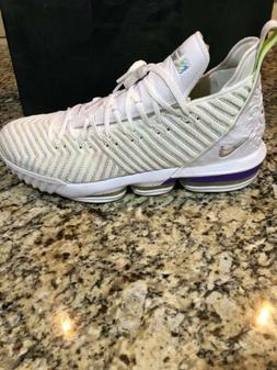 New Nike LeBron 16 Basketball Shoes  Style A02588 102 MSRP $