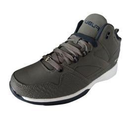 New Fubu Mens' Reed Mid-High Basketball Shoe Sz 7.5 Gray