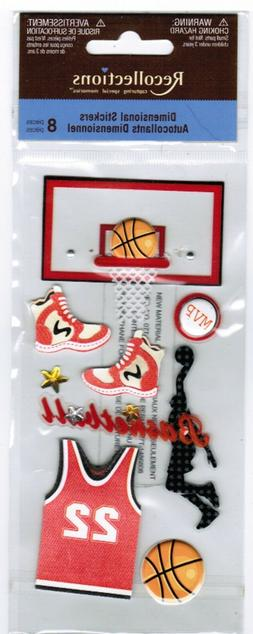 NEW pack Basketball Dimensional Shoes Ball Shirt Stickers!