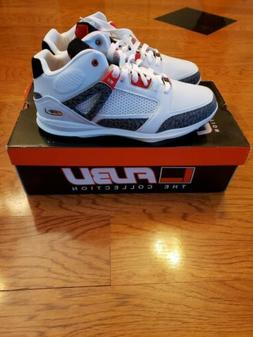 NEW Size 11 White Fubu The Collection Reed Men's Basketball