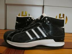 NEW Adidas SM Pro Model 08 Black White PATENT LEATHER 13 G09