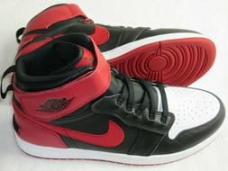 Nike Air Jordan 1 Hi Flyease Basketball Shoes Black Gym Red