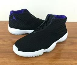 Nike Jordan Future Basketball Shoes  Black Dark Concord // S