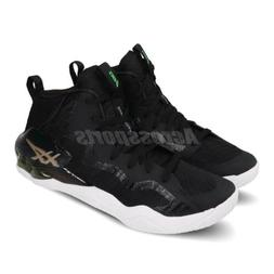 Asics Nova Surge Gel Black White Hi-Top Men Basketball Shoe