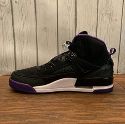 Jordan Spizike Black Court Purple 315371-051 Basketball Shoe