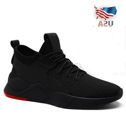 US Men's Running Shoes Sport Breathable Sneakers Basketball