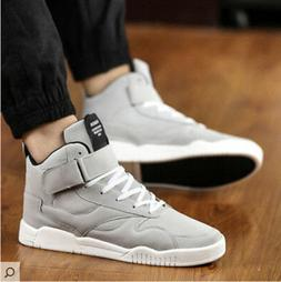 US Men's Sneakers High top Casual Causal Running Basketball