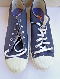 Vintage Canvas Low Top Basketball SHOES Athleric USA Made 50